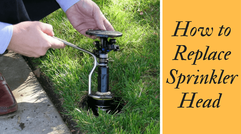 How to Replace Sprinkler Head