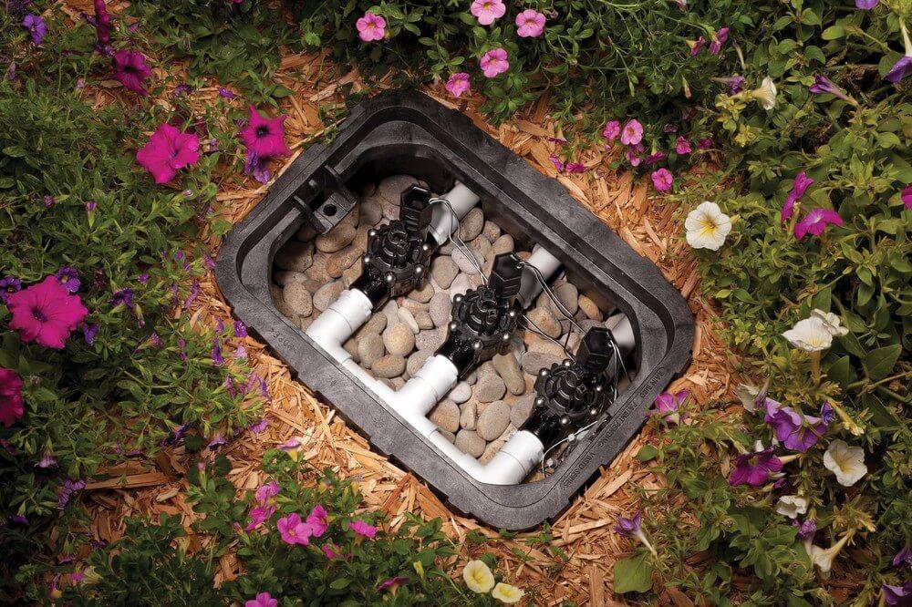 sprinkler valve box