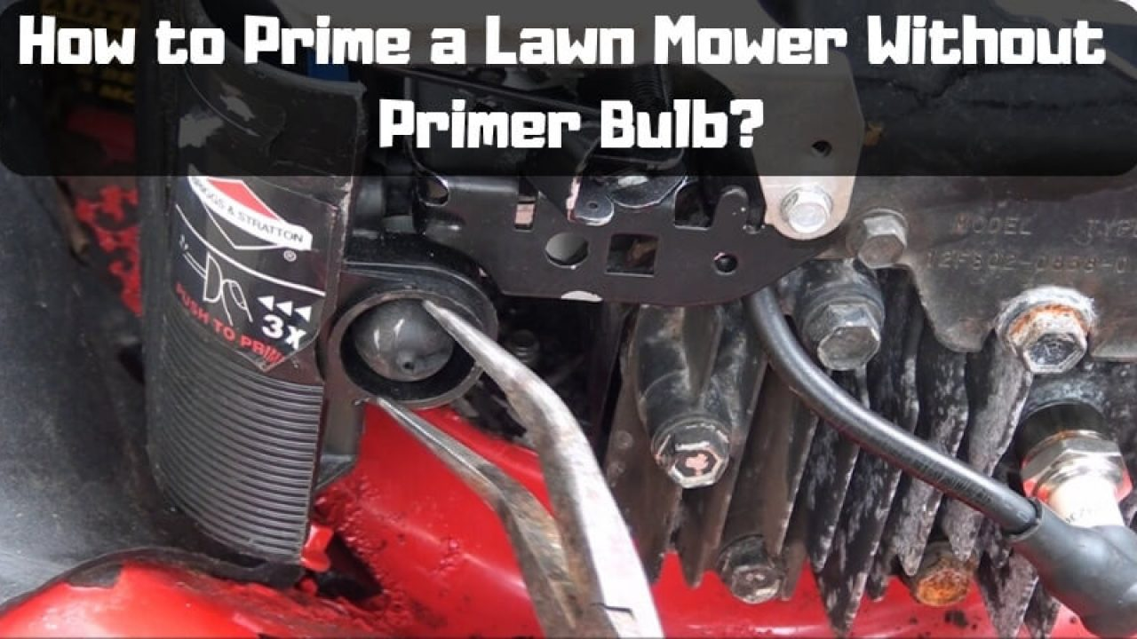 How to Start a Lawn Mower Without Primer Bulb – Problem Solved