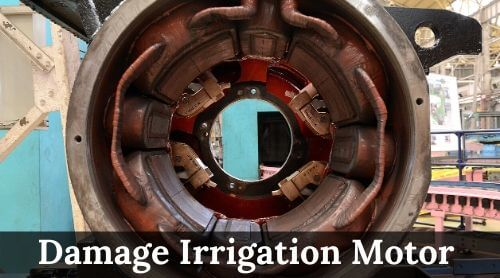 Damage Irrigation Motor